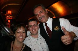 Photo of Melbourne Colonial Tramcar Restaurant Tour of Melbourne Our Lovely Concierge who is a Fantastic Singer