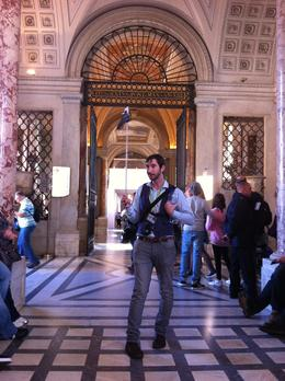 Photo of Rome Skip the Line: Vatican Museums Walking Tour including Sistine Chapel, Raphael's Rooms and St Peter's Our tour guide