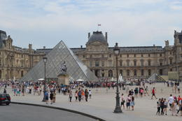 Photo of Paris Skip the Line: Louvre Museum Walking Tour including Venus de Milo and Mona Lisa Outside the Louvre