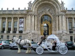 Photo of Paris Romantic Horse and Carriage Ride through Paris Photo at the Grand Palais
