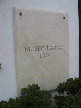 Photo of Lima Experience Lima: An Evening at the Larco Museum with Dinner Plaque