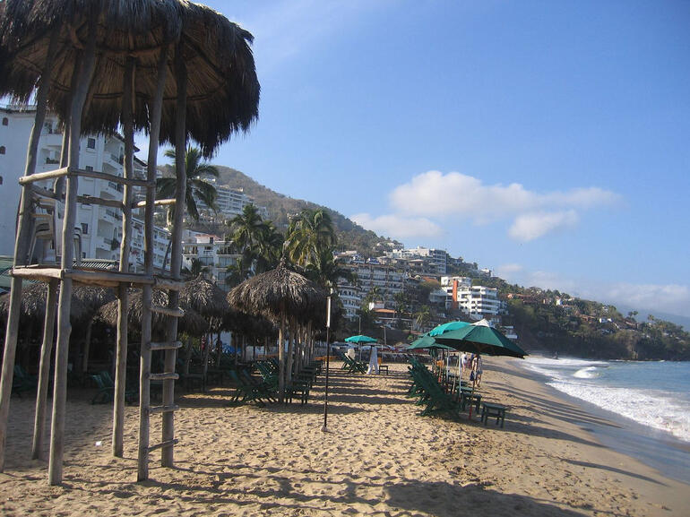 Playa de los Muertos (Beach of the Dead), Puerto Vallarta - Puerto Vallarta