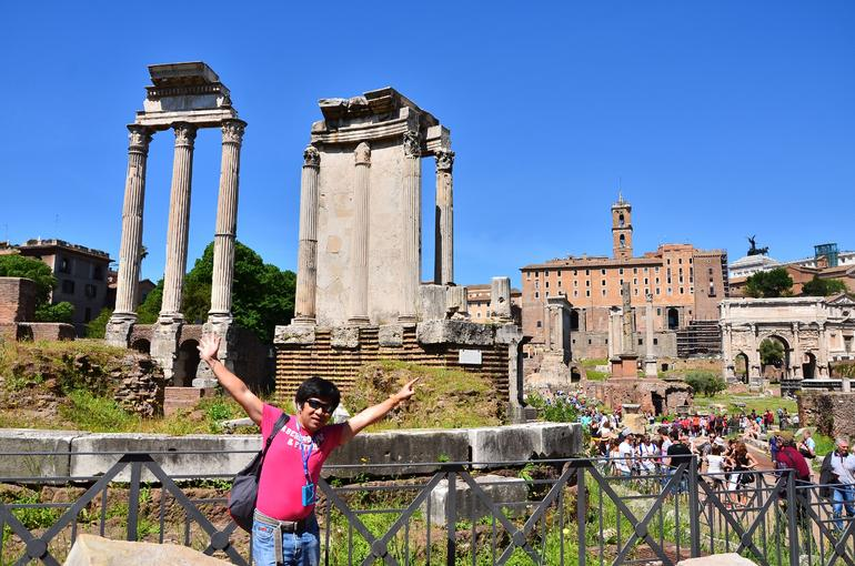 Ruins of the Ancient City - Rome