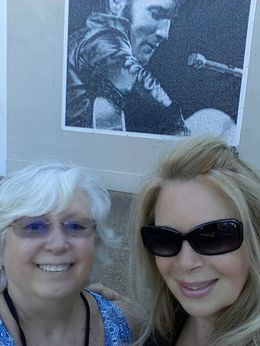 Me in sunglasses and MY BFF , sherry a - September 2015