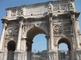 Photo of Rome Skip the Line: Ancient Rome and Colosseum Half-Day Walking Tour the arch of constantine
