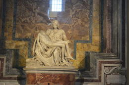 Photo of Rome Skip the Line: Vatican Museums Walking Tour including Sistine Chapel, Raphael's Rooms and St Peter's The Pieta...at St Peter's Bascilica