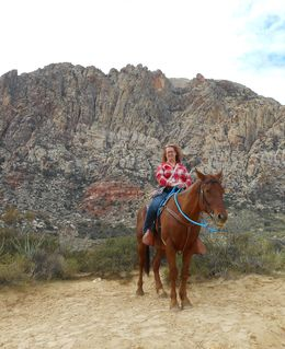 Me riding the lovely Yukon , amanda_kinsley - October 2015