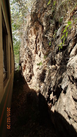 Photo of Bangkok Thai Burma Death Railway Bridge on the River Kwai Tour from Bangkok View from the train