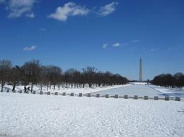 View from Lincoln Memorial, Peter S - March 2010
