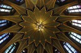 You will see this beautiful pattern when you look upwards to the ceiling. Really stunning!, Elmarie Magda D - August 2010