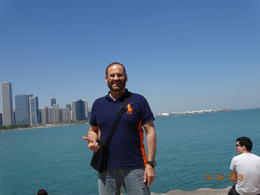 Prof. Sameer Bafaqeeh, M.D. at the end of Chicago Tour , SAMEER ALI B - May 2013