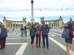 Great day! Here at Heroes' Square , Diana M - October 2015