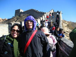 Photo of Beijing Private Tour: Mutianyu Great Wall, Olympic Sites and Optional Hot Springs Spa in Beijing Hiking the Badaling