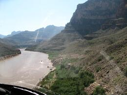 Photo of Las Vegas Ultimate Grand Canyon 4-in-1 Helicopter Tour Landing in the Grand Canyon