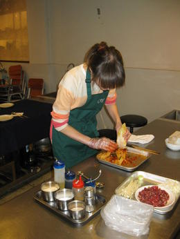 Photo of Seoul Experience Seoul: Korean Beginner or Intermediate Cooking Class Making kimchi