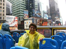 Photo of New York City New York City Hop-on Hop-off Tour and Harbor Cruise On tour bus