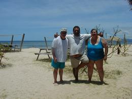Photo of Fiji Fijian Islands and Snorkel Full-Day Whales Tale Cruise including Beach BBQ Lunch Picture with Crew Member