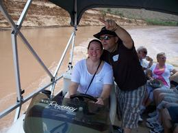 Photo of Las Vegas Ultimate Grand Canyon 4-in-1 Helicopter Tour Pontoon boat ride on the Colorado River