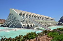 The science museum of Valencia is an impressive looking modern structure in the south-east of the city. , David Lally - May 2015