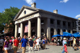 Quincy Market, Jules & Brock - July 2012