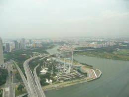 Photo of Singapore Singapore City Pass: Singapore Flyer, Duck Tour and Food Trail Singapore Flyer from Marina Sands hotel