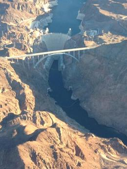 The Hoover Dam from above , allwyn - January 2015