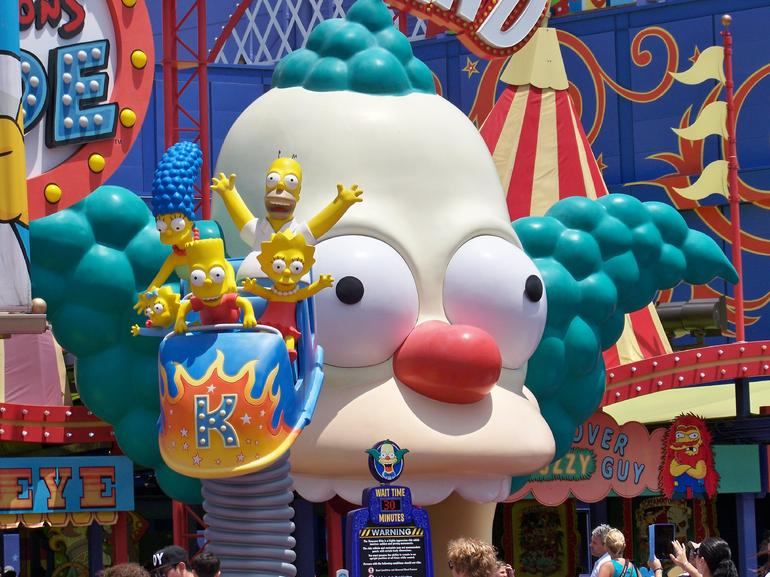 The Simpsons Ride - Anaheim & Buena Park