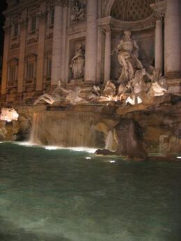 Trevi Fountain by Night, Philippa Burne - June 2011