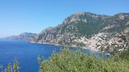 View of the Amalfi Coast from a panoramic position on the Coast road. , matthewtotaro - June 2016
