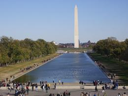 Washington Monument from Lincoln Memorial. - November 2007