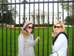 With the White House in the background, Megan E - November 2009