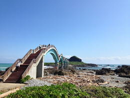 Photo of Taipei 5-Day Best of Taiwan Tour from Taipei: Sun Moon Lake, Taroko Gorge, Kaohsiung and Taitung 8 Arches Bridge
