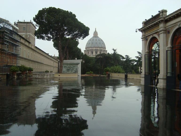 A view only able to be captured while on special tour - Rome