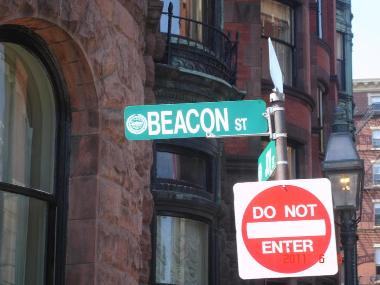 Beacon Street, across from the Boston Common - Boston