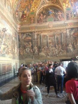 Photo of Rome Skip the Line: Vatican Museums Walking Tour including Sistine Chapel, Raphael's Rooms and St Peter's beautiful art inside