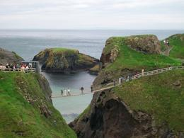 Photo of Dublin Northern Ireland including Giant's Causeway Rail Tour from Dublin Carrick - A - Rede Rope Bridge