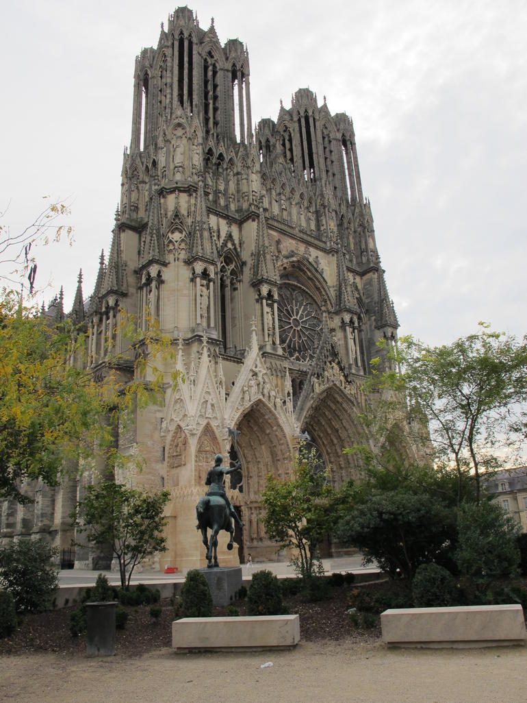 Cathedral at Reims - Paris