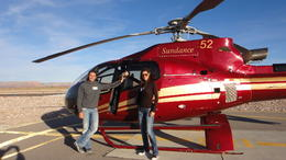 Photo of Las Vegas Skip the Line: Grand Canyon Skywalk Express Helicopter Tour Getting ready to head back