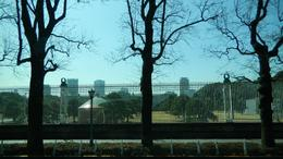 Photo of Tokyo Panoramic Tokyo Day Tour - Meiji Shrine, Asakusa Temple and Tokyo Bay Cruise Lateral view of the gate