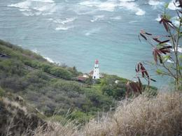 View looking down from Diamond Head, Jennifer G - October 2009