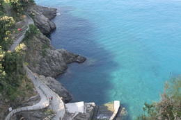 Blue waters of the Ligurian Sea , laurieesser - September 2013