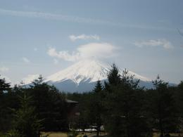 First view of the Mt Fuji on the superb Viator day trip, Tim C - July 2010