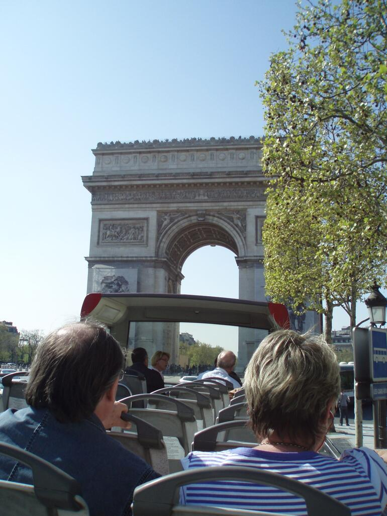 On the bus - Paris