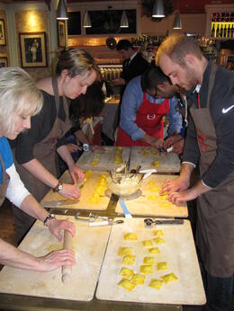 Photo of Rome Rome Walking Tour and Cooking Class pasta