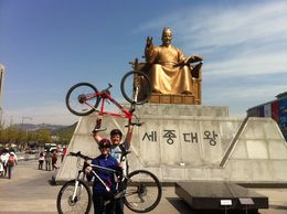 Seoul City Sightseeing by Bike and Foot - May 2015