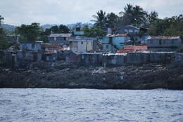 Photo of Puerto Plata Bay of Sosua Catamaran Cruise and Snorkeling some of the buildings along the way