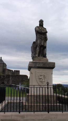 Statue of Robert the Bruce , Joan R - November 2015
