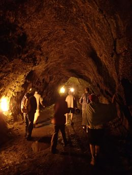 This is the Lava Tube tour. , Jolina L - November 2015