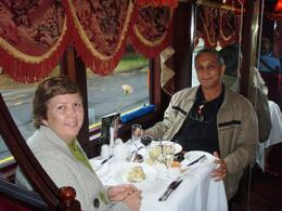 Photo of Melbourne Colonial Tramcar Restaurant Tour of Melbourne Tram 4 Table 1