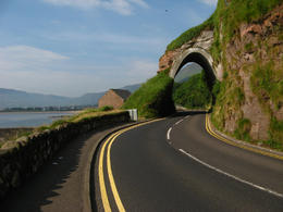 Photo of Dublin Titanic Visitor Experience and Giant's Causeway Day Trip from Dublin Antrim Coast Road Tunnel
